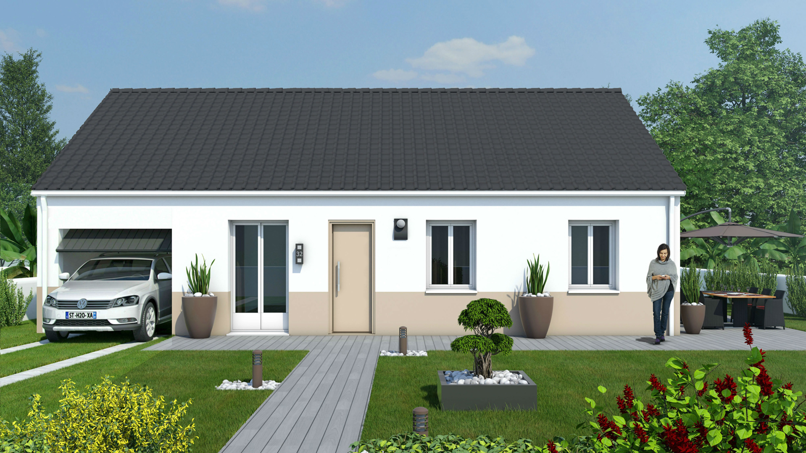 Maison Basse consommation 3 chambres